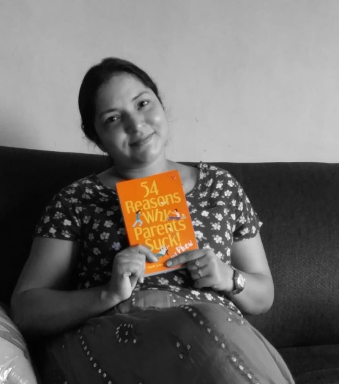 Nidhi Arora, Founder ESHA with the book